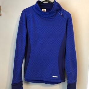 Avalanche blue sweatshirt